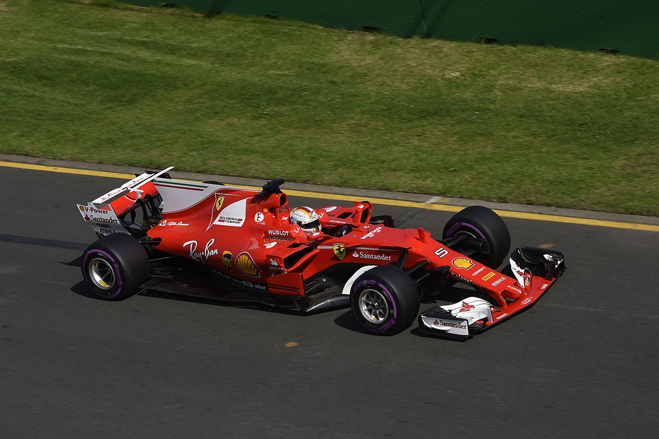 Australian Grand Prix - Vettel and Scuderia Ferrari on top in Australia