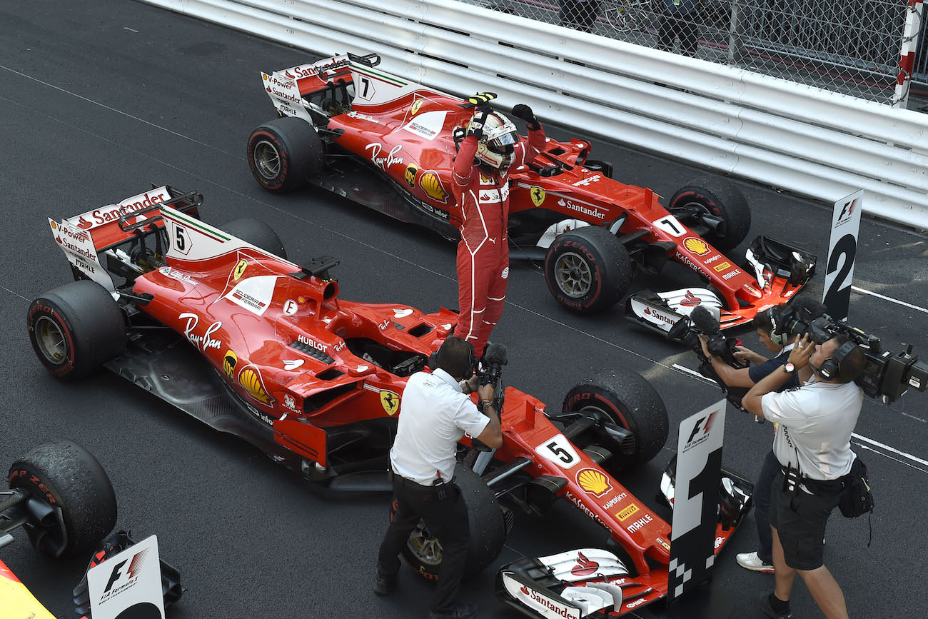 ferrari ends up at the first place of monaco grand prix modenacars en. Black Bedroom Furniture Sets. Home Design Ideas