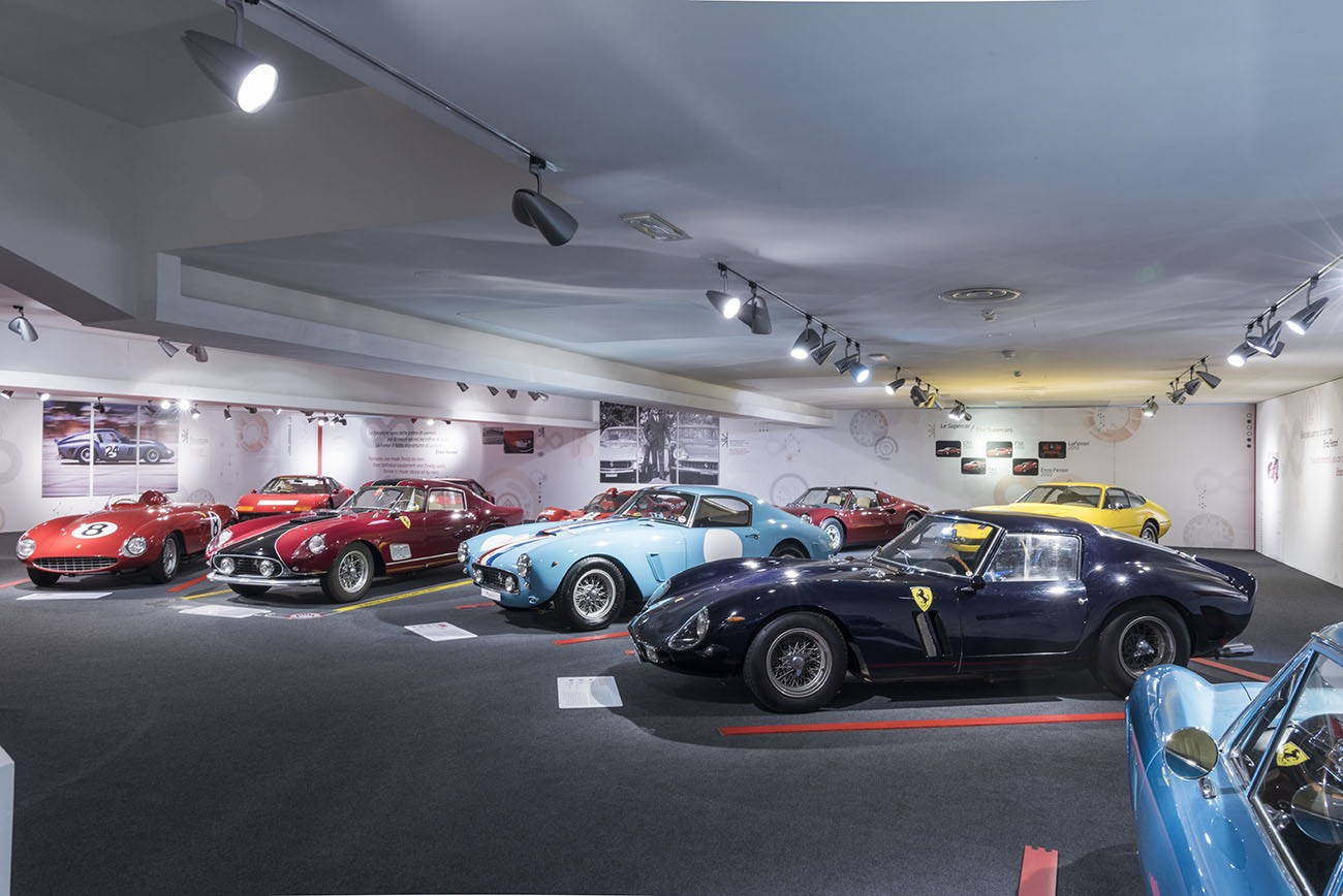 ferrari museum in maranello expands and exhibitions modenacars en. Black Bedroom Furniture Sets. Home Design Ideas