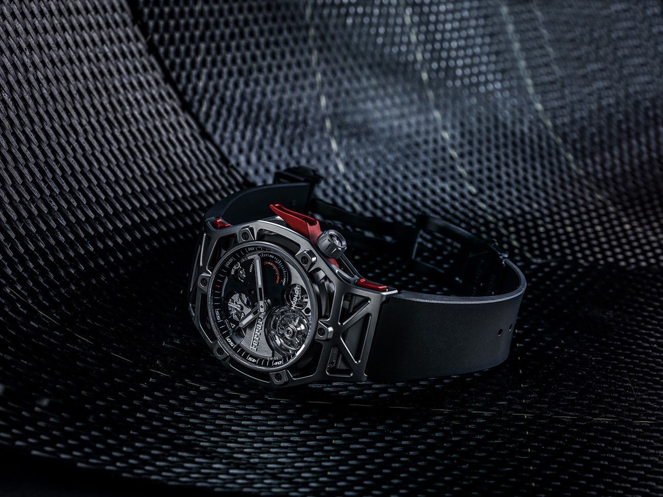 A Ferrari Design for a Hublot watch  Celebrating Ferrari's 70th Anniversary