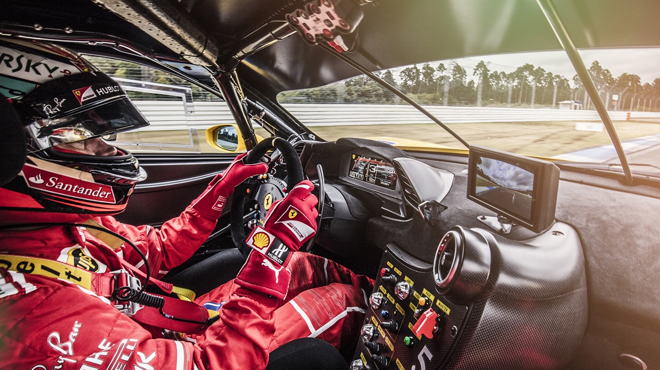 Ferrari celebrated its 70th anniversary, on the Hockenheim Track, with a special guest : Kimi Räikkönen