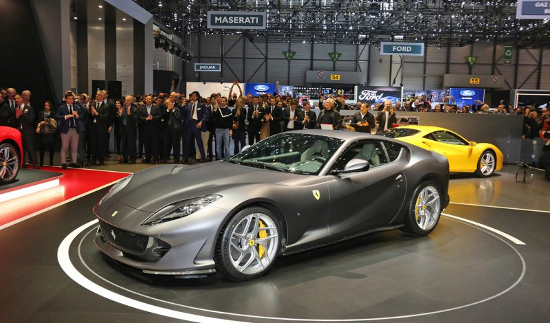 The 812 Superfast unveiled in Geneva
