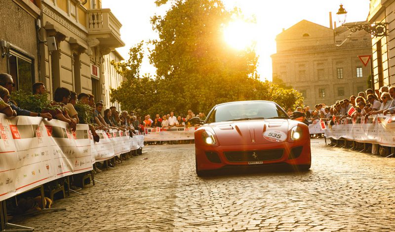 Tribute and Mille Miglia ready to go with over 100 Ferraris