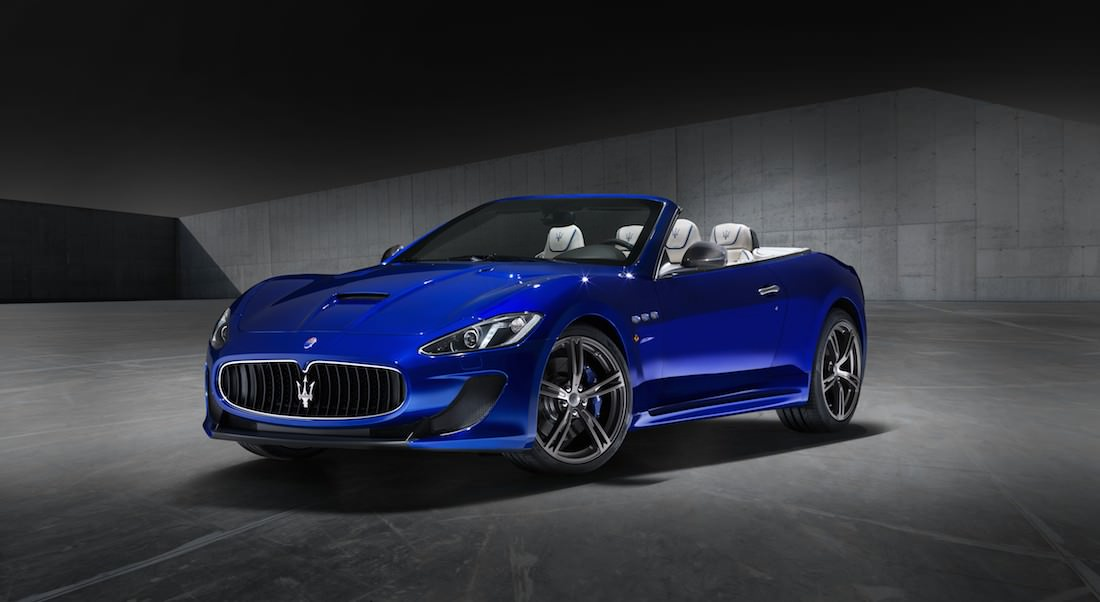 maserati granturismo mc et grancabrio mc centennial edition modenacars fr. Black Bedroom Furniture Sets. Home Design Ideas