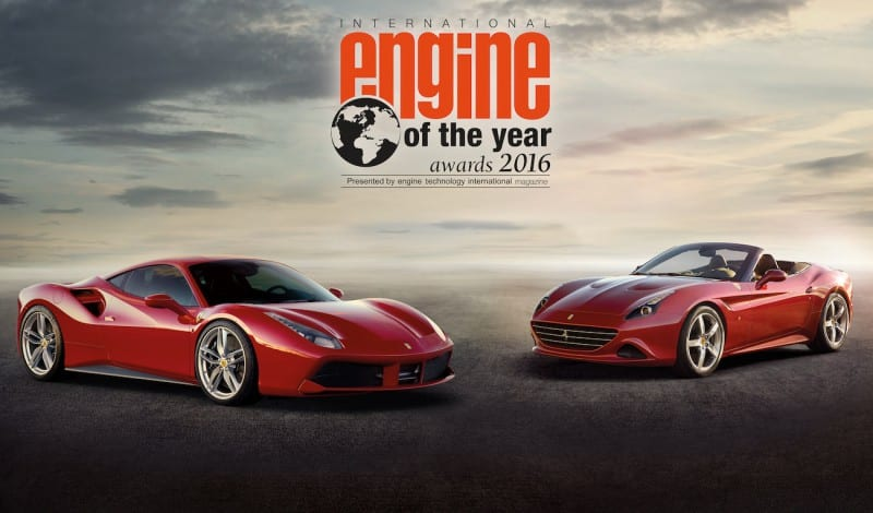 Ferrari engin of the Year