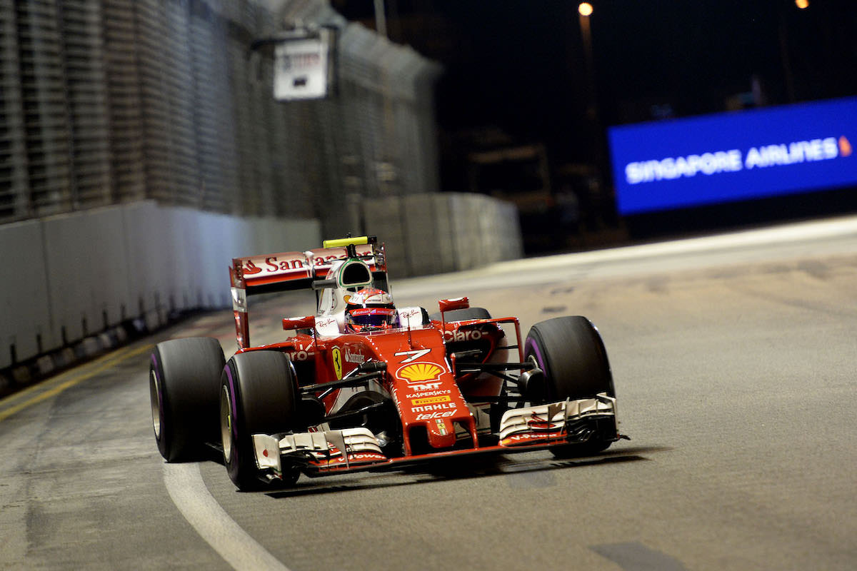 kimi raikkonen fini 4e singapour sebastian vettel 5e modenacars fr. Black Bedroom Furniture Sets. Home Design Ideas