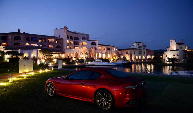 Maserati : voiture officielle du Costa Smeralda Invitational charity event