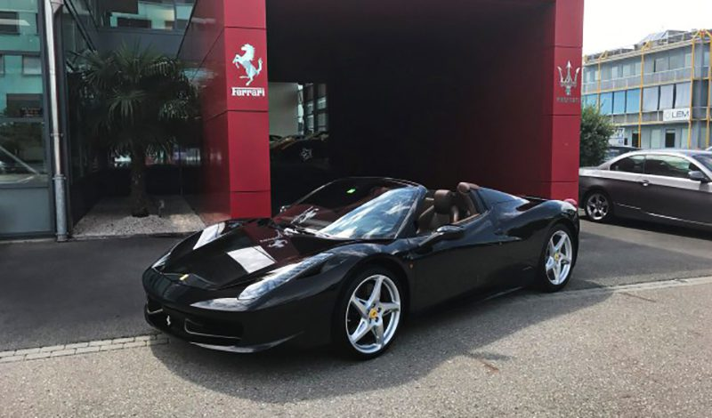la voiture de la semaine ferrari 458 spider italia modenacars fr. Black Bedroom Furniture Sets. Home Design Ideas