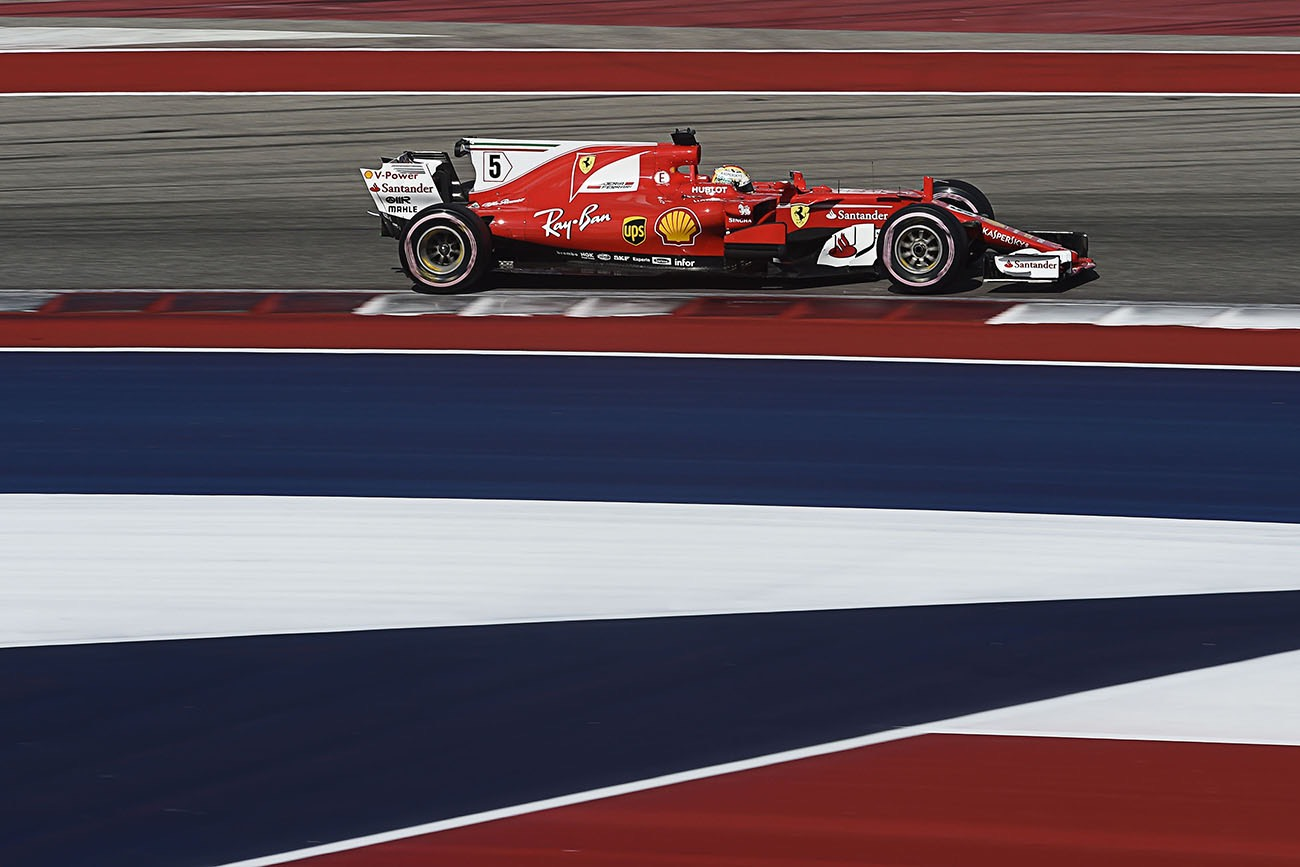 United States Grand Prix - Double podium for Scuderia Ferrari