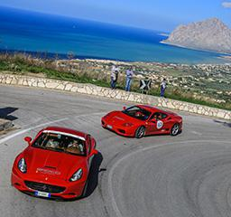 Tribute Ferrari to Targa Florio